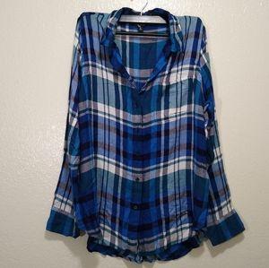 Lucky Brand women's button up shirt medium